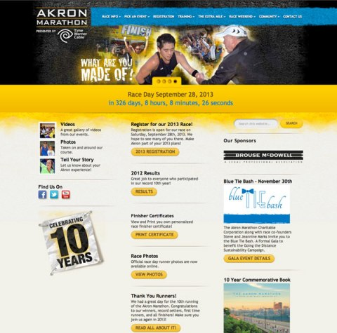 akronmarathon.org