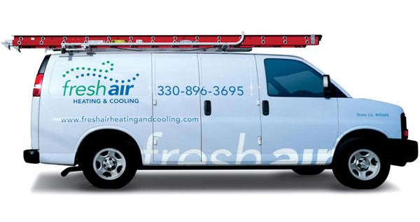 Fresh Air Heating And Cooling Van