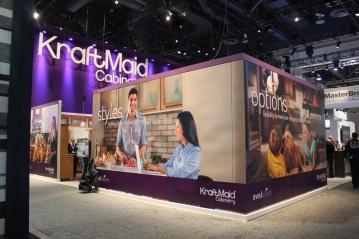 KraftMaid KBIS Booth Design