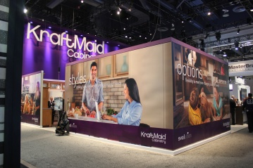 KraftMaid KBIS Booth Design