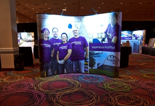 KraftMaid Trade Show Walls