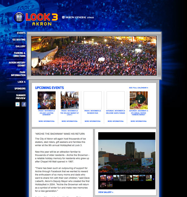 Lock 3 Website