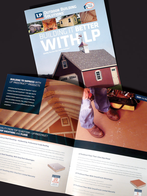 LP Shed Consumer Brochure