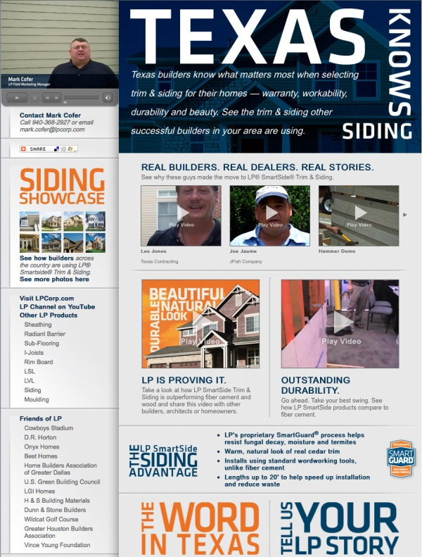 Texas Know Siding Website