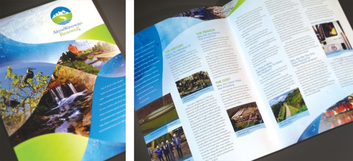 Akron Waterways Renewed Brochure
