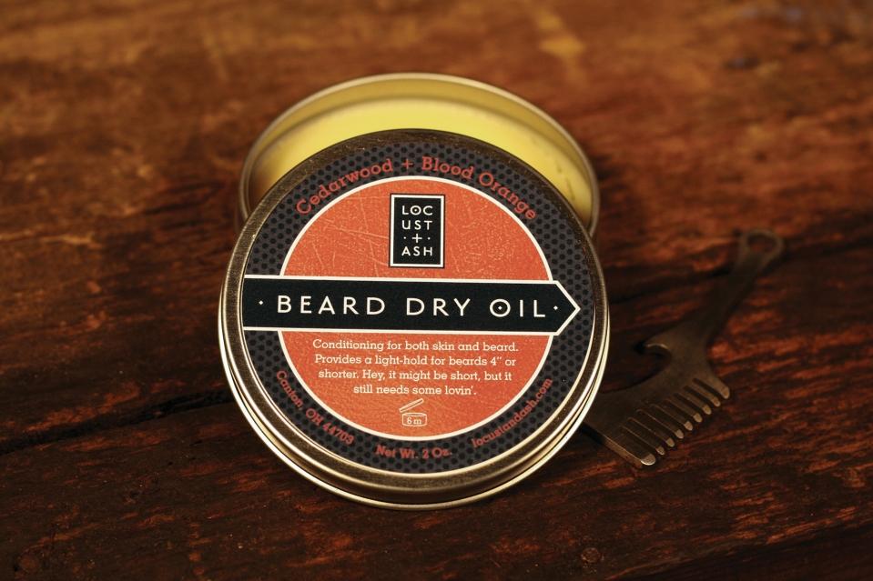 BeardDryOilCedarwoodBloodOrange