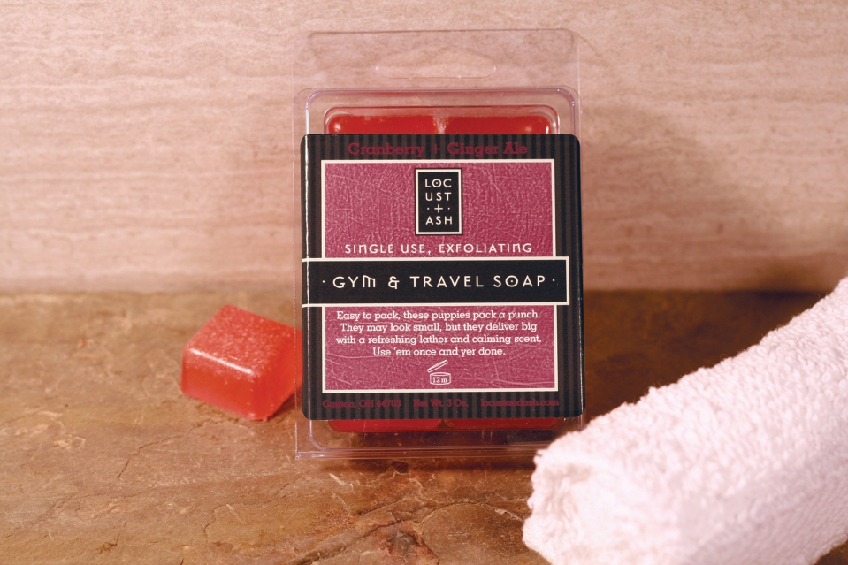 Travel Soap Cranberry+GingerAle